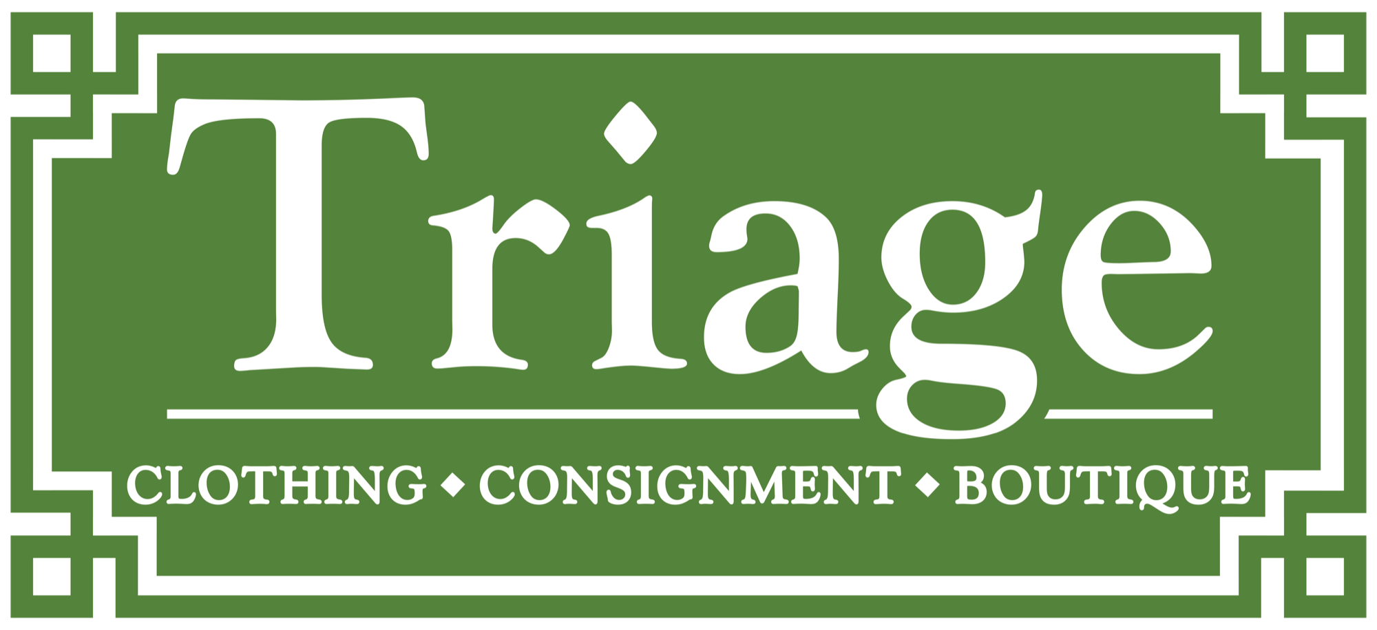 Triage Consignment Boutique Logo